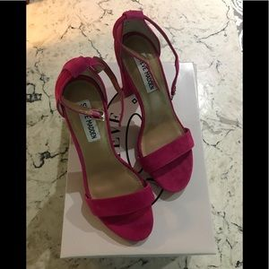 Brand New Hot Pink Carrson Heels